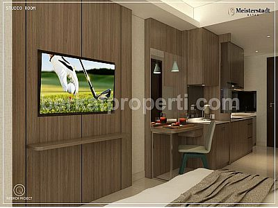 Apartment Pollux Habibie Type Studio